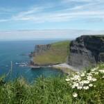 Les falaises de Moher en Irlande. Voyage de 2014
