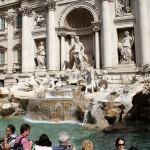 La fontaine de Trévi à Rome en 2013