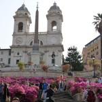 Place d'Espagne à Rome (2013)